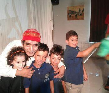 عرض مسرح الطنطورة الفلسطيني لطلاب المرحلة الأساسية
